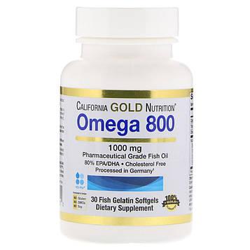 California Gold Nutrition, Омега 800