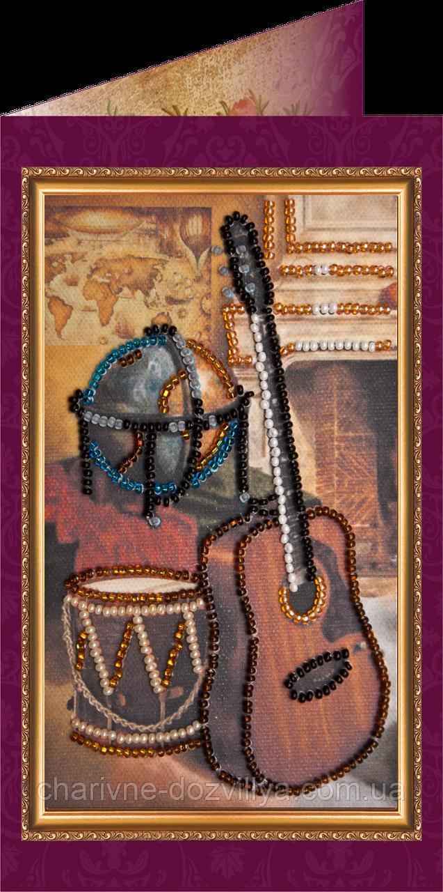 Набор для вышивки бисером открытка Поздравляю - 18