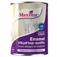 """Эмаль алкидная высококачественная TM """"Maxima"""" белая матовая 0,9 кг"""