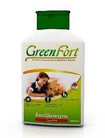 Грин Форт (Green Fort) биошампунь от блох для собак, 400 мл, Экопром