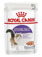 Роял Канин Sterilised Loaf паштет для стерилизованных кошек старше 1 года, 0,085 кг