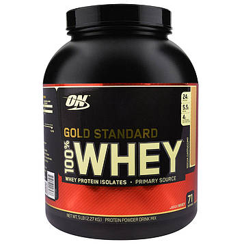 Optimum Nutrition, Gold Standard, 100% сыворотка, мокко капучино, 2,27 кг (5 фунтов)