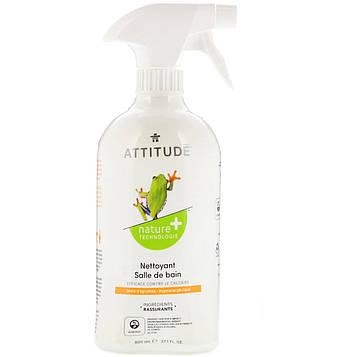 ATTITUDE, Очиститель для ванной с цитрусовым ароматом, 27,1 ж. унц. (800 мл)