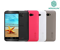 Чехол для HTC Desire 601 - Nillkin Super Frosted Shield (пленка в комплекте)
