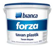 Краска пластиковая потолочная Forza Bianca, 17,5 кг