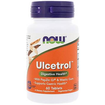 Now Foods, Ulcetrol, 60 таблеток