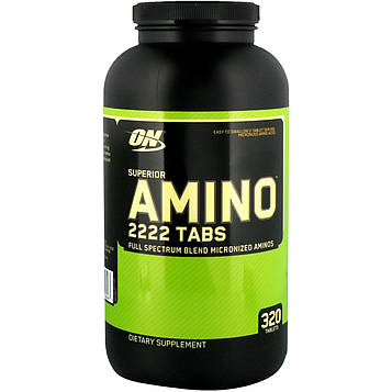 Optimum Nutrition, Superior Amino 2222 Tabs, 320 таблеток
