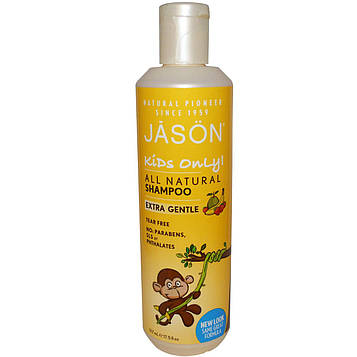 Jason Natural, Очень мягкий шампунь для детей, 17,5 жидких унций (517 мл)