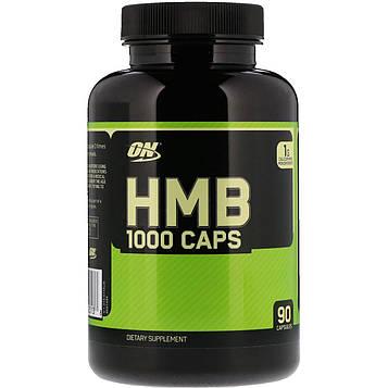 Optimum Nutrition, HMB 1000 Caps, 90 капсул
