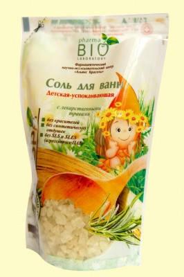 Сіль для ванн Дитяча заспокійлива 500г , фото 2
