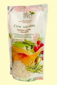 Сіль для ванн Здорове дихання з евкаліптом 500г