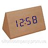 Часы  VST-864 с синей подсветкой