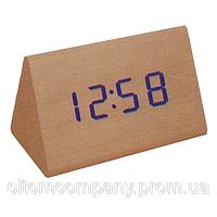 Часы  VST-864 с синей подсветкой, фото 1