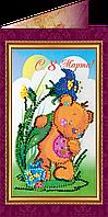 Набор для вышивки бисером открытка 8 - Марта - 6