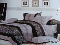 Сатиновое постельное белье полуторка ELWAY 3702