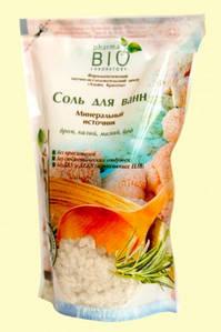 Сіль для ванн Мінеральне джерело 500г