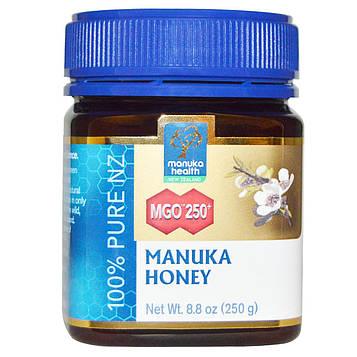 Manuka Health, Мед манука, MGO 250+, 8,8 унций (250 г)