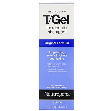 Neutrogena, T/Gel, терапевтический шампунь, оригинальная формула, 16 жидких унций (473 мл)
