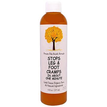 Caleb Treeze Organic Farm, Предотвращает ножные судороги, 8 жидких унций (237 мл)