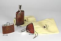 Эксклюзивная фляжка из кожи - 1042