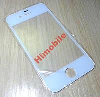 Стекло сенсора для Apple iPhone 4 / 4G / 4S / 4GS белое