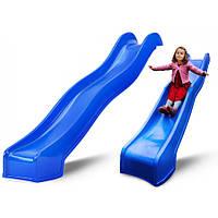 Детская горка Swing King Blue 3м