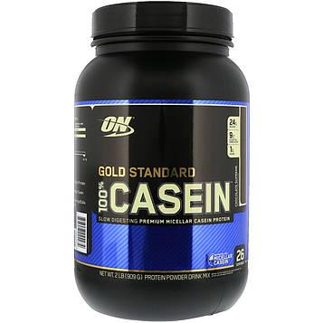 Optimum Nutrition, 100% казеин, Золотой Стандарт, шоколадный вкус, 909 г