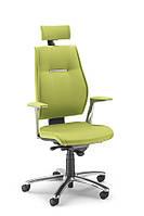 Кресло для офиса и кабинета с высокой спинкой Сердечника - эко-кожа