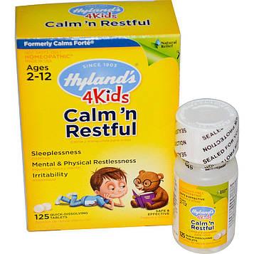 Hylands, Успокаивающее для детей, 125 быстрорастворимых таблеток