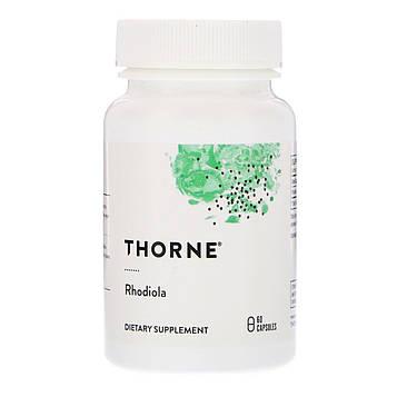 Thorne Research, Родиола, 60вегетарианских капсул