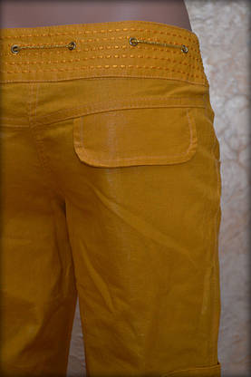 Женские брюки лен 22, фото 3