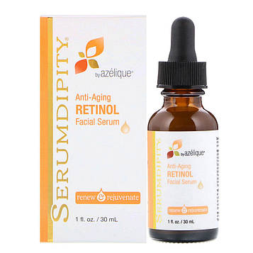 Azelique, Serumdipity, Anti-Aging Retinol Facial Serum, 1 fl oz (30 ml)