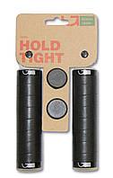 Грипсы Green Cycle GC-G220 130mm кожанные черные с двумя замками