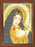 Схема для вышивки бисером «Мадонна с младенцем»