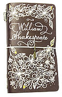 Блокнот ручной работы Вильям Шекспир (S132L) КОД: 363063
