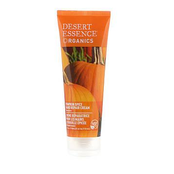 Desert Essence, Органический крем для заживления кожи на руках с тыквенным запахом, 4 жидких унции (118 мл)