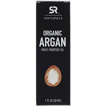 Sports Research, Органическое многоцелевое аргановое масло, 1 ж. унц. (30 мл)
