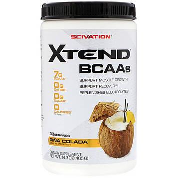 Scivation, Xtend, аминокислоты с разветвлённой цепью, пинаколада, 405 г