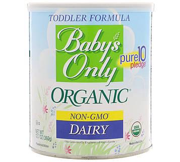 Natures One, Organic, смесь для малышей, молочный продукт, 360 г