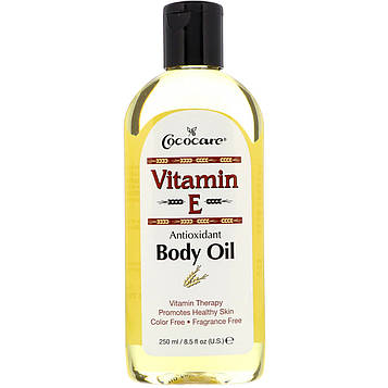 Cococare, Витамин Е , масло для тела 8.5 жидких унции (250 мл)