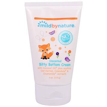 Mild By Nature, Крем от опрелостей Bitty Bottom Cream, без запаха, 4 унции (113 г.)