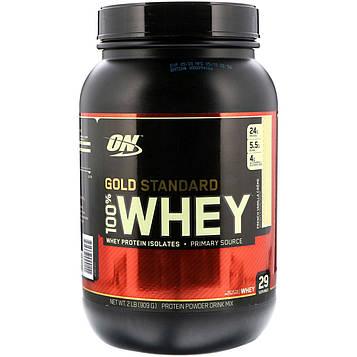 Optimum Nutrition, 100% сыворотка Gold Standard, со вкусом ванильного крем-ликера, 2 фунта (912 г)