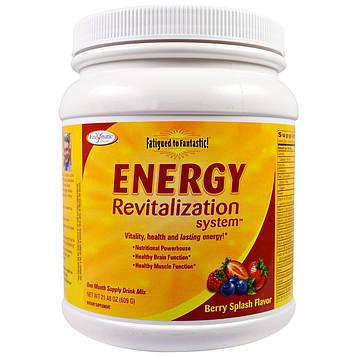 Enzymatic Therapy, Система восстановления энергии Fatigued to Fantastic! со вкусом ягодное буйство, 21,48 унций (609 г)