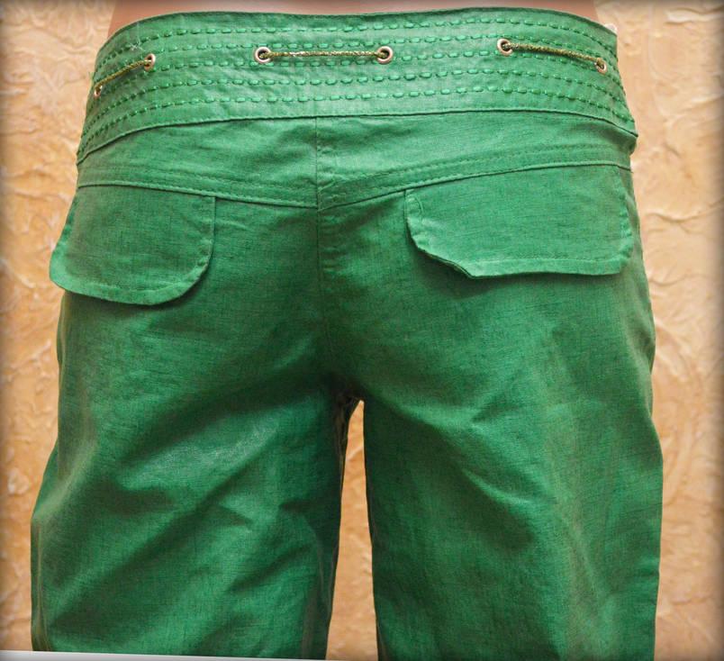 Женские брюки лен 42, фото 2