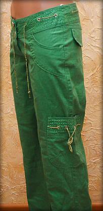 Женские брюки лен 42, фото 3