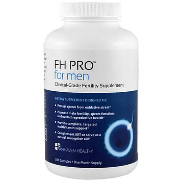 Fairhaven Health, FH Pro для мужчин, добавка для фертильности клинического класса, 180 капсул