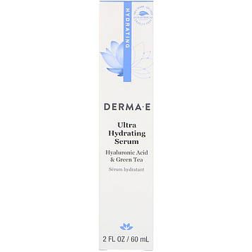 Derma E, Увлажняющая сыворотка, 2 ж. унц. (60 мл)