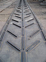 Лента транспортировочная с косыми перегородками