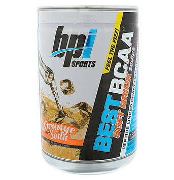 BPI Sports, Лучшие аминокислоты с разветвлённой цепью, апельсиновый лимонад, 11,64 унц. (330 г)