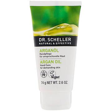 Dr. Scheller, Средство ухода за руками, аргановое масло, требовательная кожа, 74 г